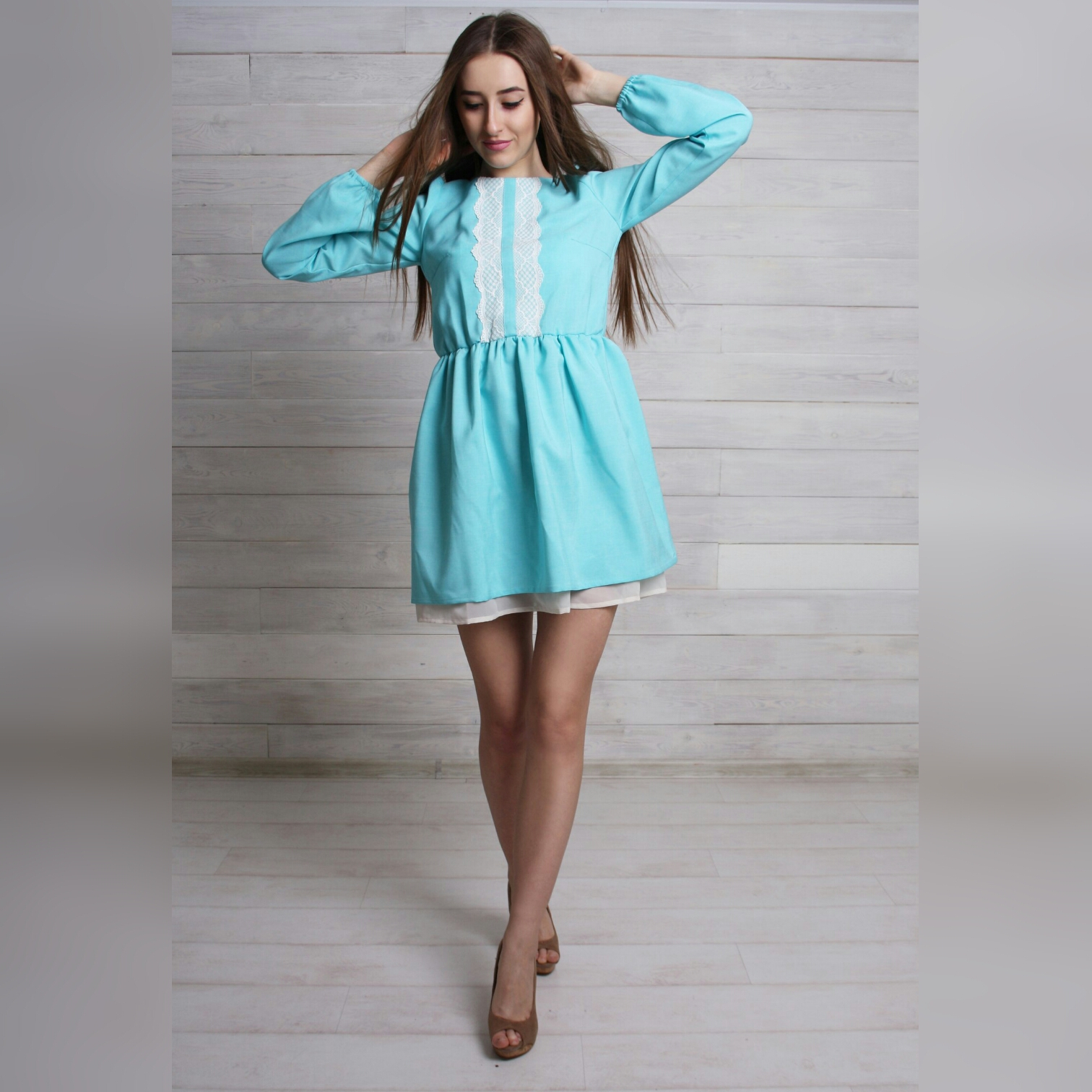 Coctailkleid AYA, Mint Coctailkleid AYA, Mint 09 01