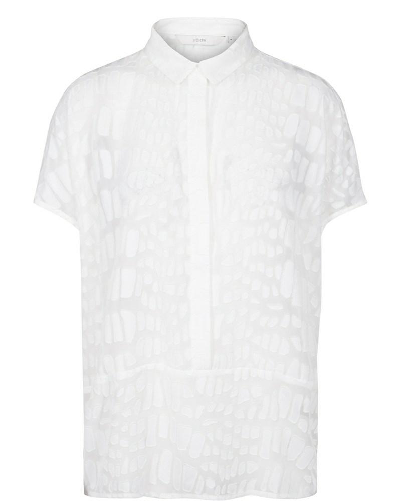 Weiße Bluse von Nümph Weiße Bluse von Nümph 22