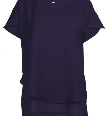 Schicke blaue Bluse