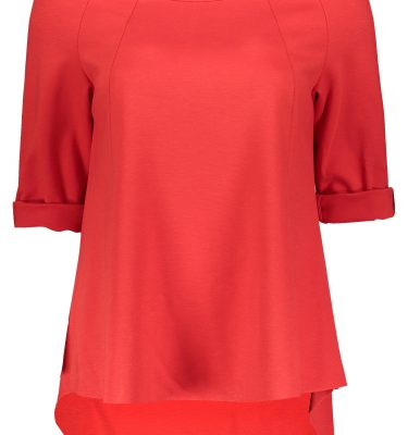 Basic Shirt Rosso Basic Shirt rosso Basic Shirt rosso image 2 996 375x400