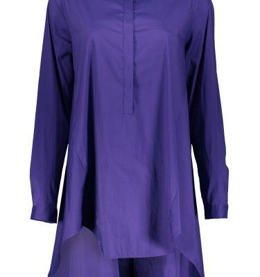 Bluse in Violett
