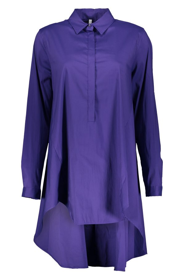Bluse in Violett