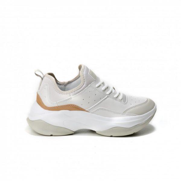 Sneakers in Taupa Farbe