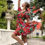 Sommer minikleid